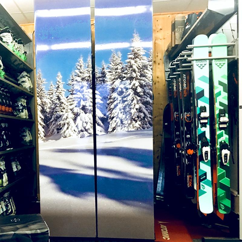 Группа - Промо-лыжные шкафчики