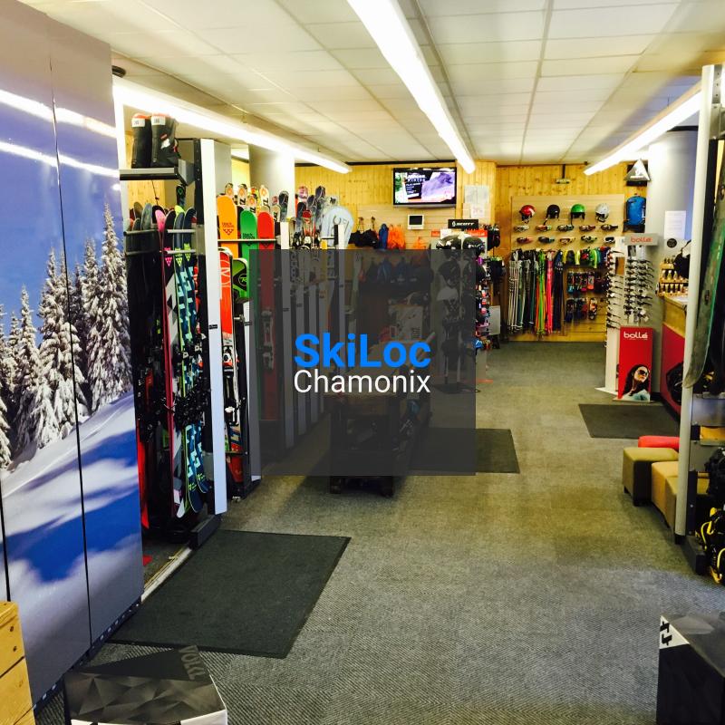 Skiloc store Chamonix Mont-Blanc