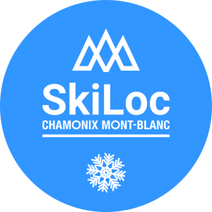 With Skiloc rent Black Crows Skis in Chamonix