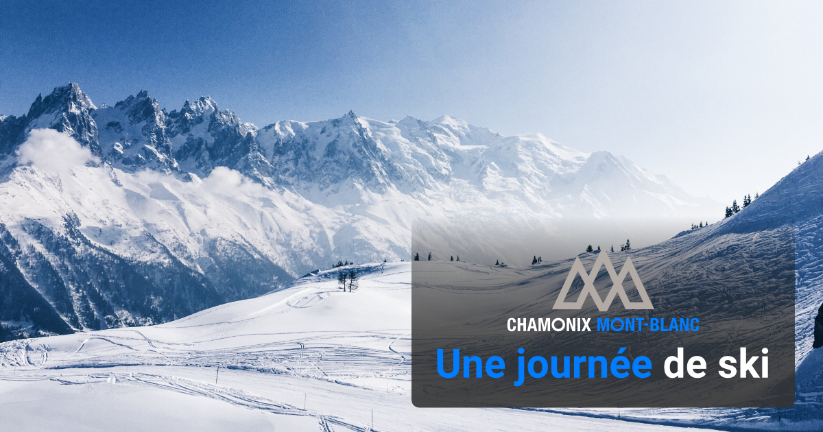 Une journée de ski à Chamonix